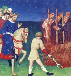 Exécution de Templiers