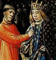 Louis VII prenant la croix pour la IIe Croisade