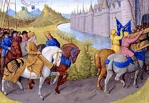 Arrivée des Croisés à Constantinople