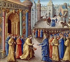 Raimon accueille Louis VII à Antioche