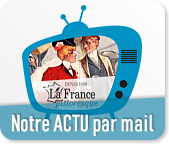 Abonnement à la lettre d'information La France pittoresque