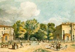 Principale entrée de la ville d'Aix, par A. Meunier, en 1792