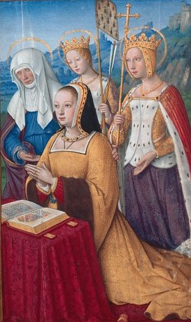 Anne de Bretagne en prière