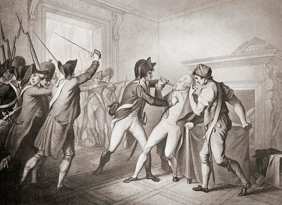 Arrestation de Robespierre