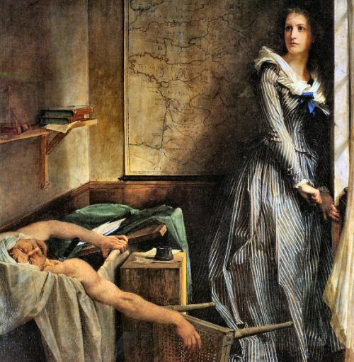 Cr 226 Ne De Charlotte Corday Assassin De Marat Un
