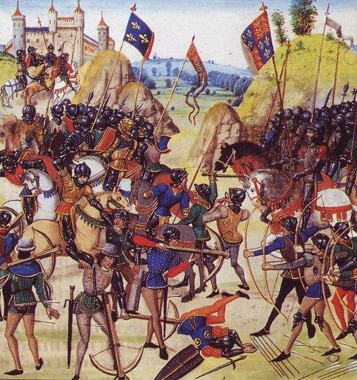 Bataille de Crécy (Chroniques de Jean Froissart)