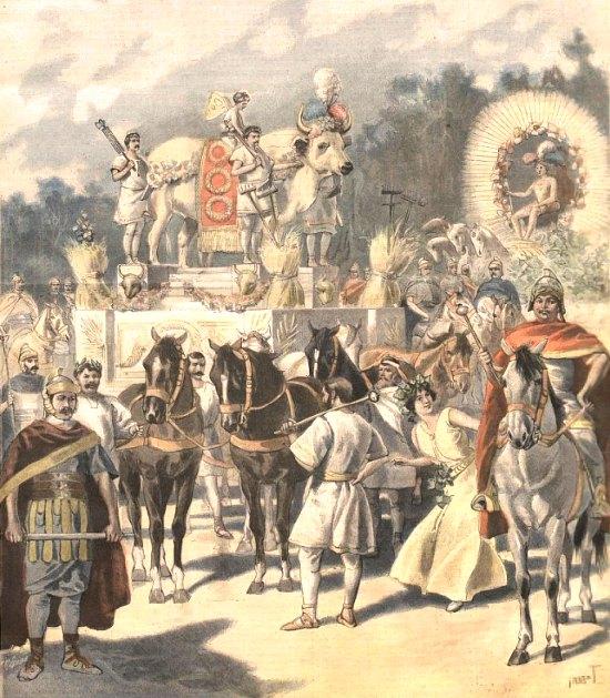 Le boeuf gras à Paris, à la fin du XIXe siècle