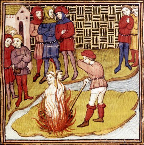 18 mars 1314 supplice de jacques de molay dernier grand ma tre des templiers histoire. Black Bedroom Furniture Sets. Home Design Ideas