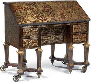 le bureau de louis xiv retrouve versailles histoire magazine et patrimoine. Black Bedroom Furniture Sets. Home Design Ideas