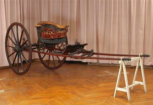 Cabriolet du début du XIXe siècle