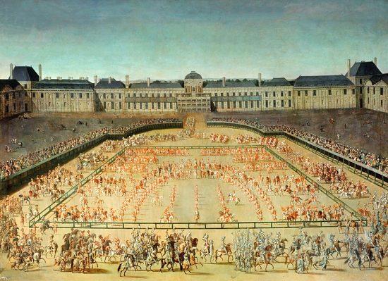 5 juin 1662 : Louis XIV adopte une devise et le soleil pour emblème lors du  carrousel des Tuileries