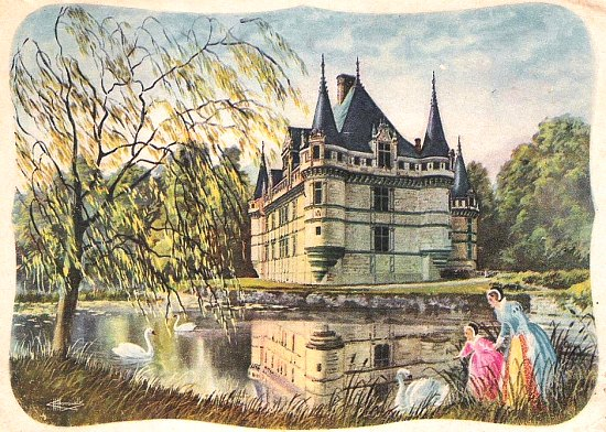 Château d\'Azay-le-Rideau et Renaissance française. Histoire ...