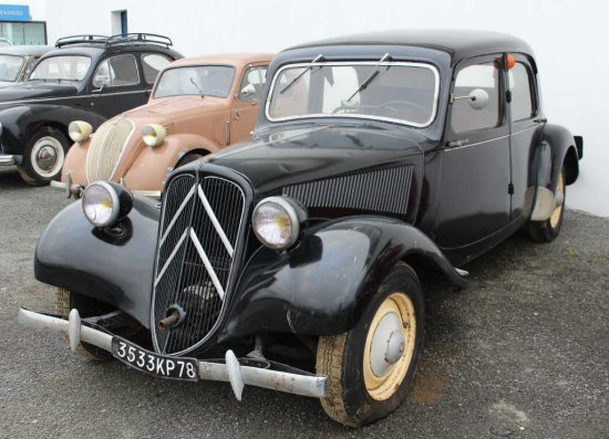 CITROEN TRACTION 11 BL de 1948