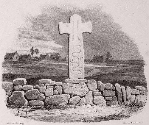 Croix celtique près de Carnac