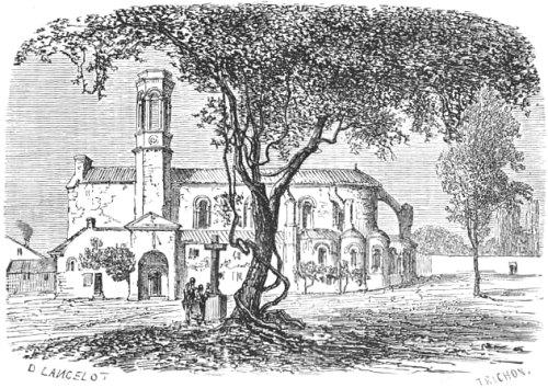 L'église de Chamalières