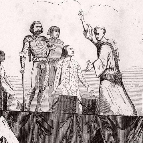 Exécution de Jacques d'Armagnac, duc de Nemours