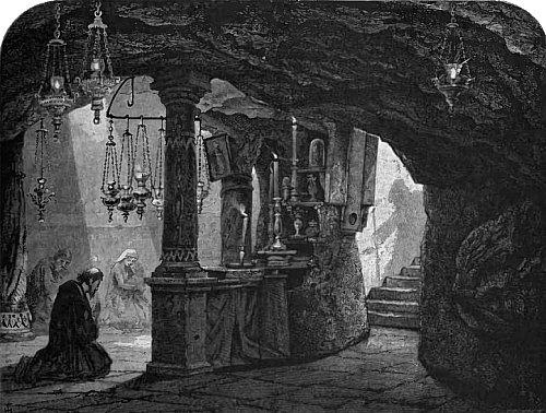 Grotte du Lait de la Vierge à Bethléem