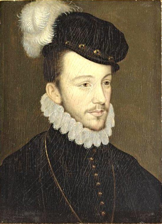 Henri, duc d'Anjou, en 1570. D'après Jean Decourt