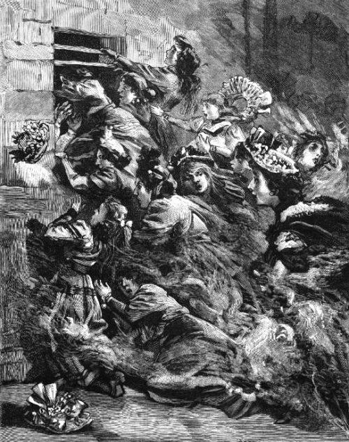 4 mai 1897 l 39 incendie du bazar de la charit de paris. Black Bedroom Furniture Sets. Home Design Ideas