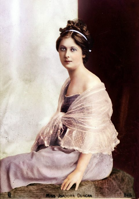 14 septembre 1927 : mort tragique de la danseuse Isadora ... Predestination