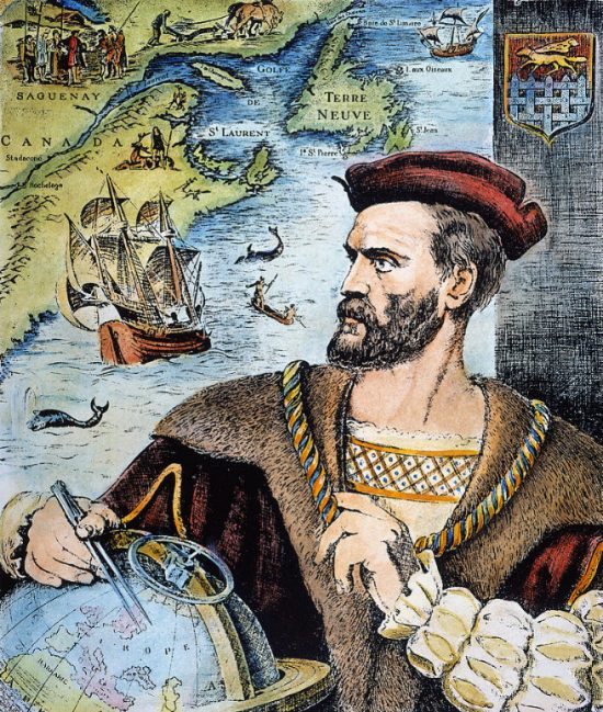 24 juillet 1534 : Jacques Cartier prend possession du Canada au nom du roi de France