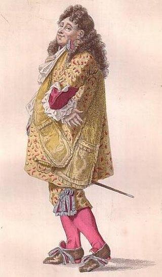 Le personnage de Monsieur Jourdain, dans Le Bourgeois gentilhomme