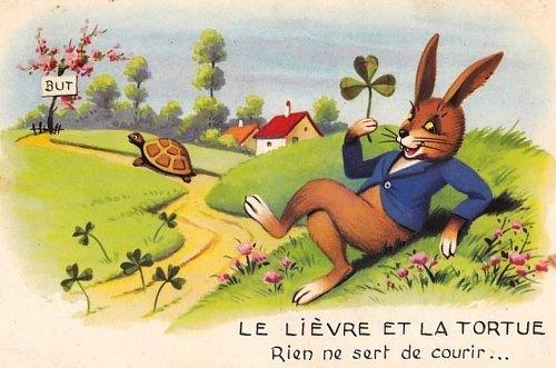 La lievre et la tortue on emaze - Dessin du lievre et de la tortue ...