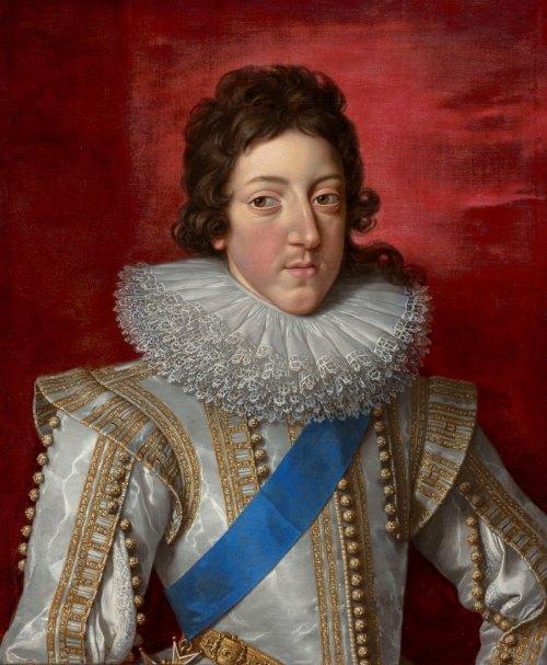 Louis XIII vers 1620, par Frans Pourbus le Jeune