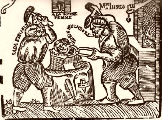Lustucru, d'après une gravure normande du XVIIIe siècle