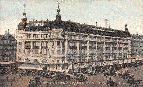 11 mai 1865 ouverture des grands magasins du printemps histoire magazine et patrimoine. Black Bedroom Furniture Sets. Home Design Ideas