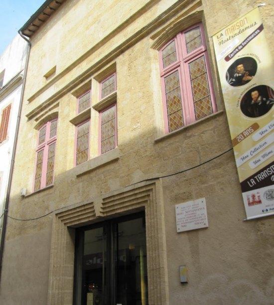Nostradamus michel de nostredame portrait biographie for Maison salon de provence
