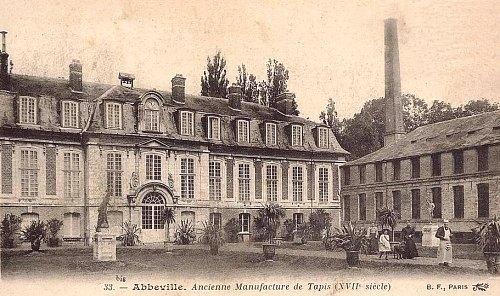 Ancienne manufacture de tapis d'Abbeville, datant du XVIIe siècle