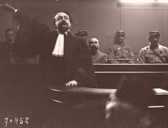 Plaidoirie de l'avocat de Landru, Me Vincent de Moro-Giafferi