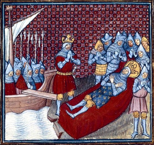 Mort de saint Louis
