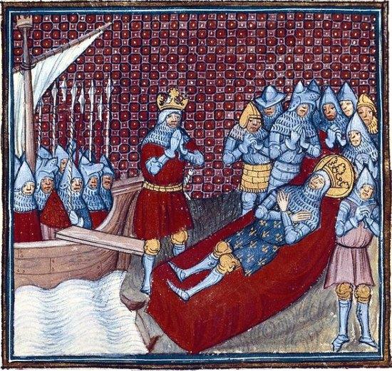 Décès du roi Saint-Louis