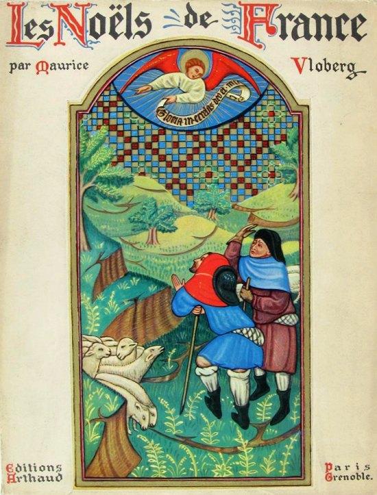 Couverture de Les Noëls de France de Maurice Vloberg (1938)