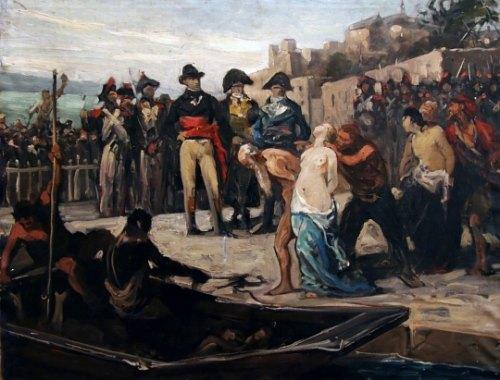 16 novembre 1793: A Nantes, l'infâme Carrier fait noyer 90 prêtres réfractaires dans la Loire Noyades-Nantes