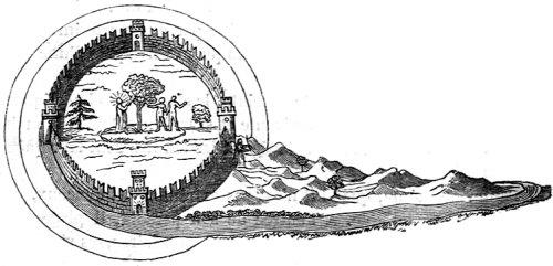 Le Paradis terrestre selon Fra Mauro, cosmographe du XVe siècle
