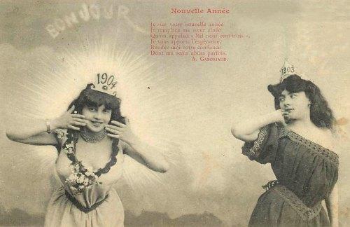 Bonjour 1904. Adieu 1903