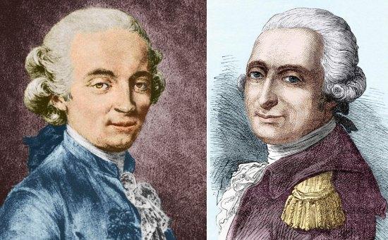 Jean-François Pilâtre de Rozier et François Laurent, marquis d'Arlandes