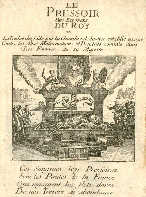 12 mars 1716 cr ation d 39 une chambre de justice charg e for Chambre de justice