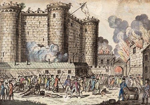 Prise De La Bastille Le 14 Juillet 1789 Revolution Francaise Prison Forteresse Mythe De L Assaut Revolutionnaire Verite Ou Mensonge Historique Temoignage D Epoque