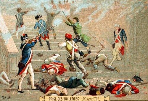 Prise des Tuileries le 10 août 1792