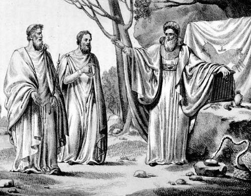 Réunion de druides