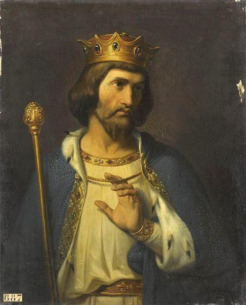 Roi Robert II le Pieux, capétien. Naissance, mort, couronnement ...