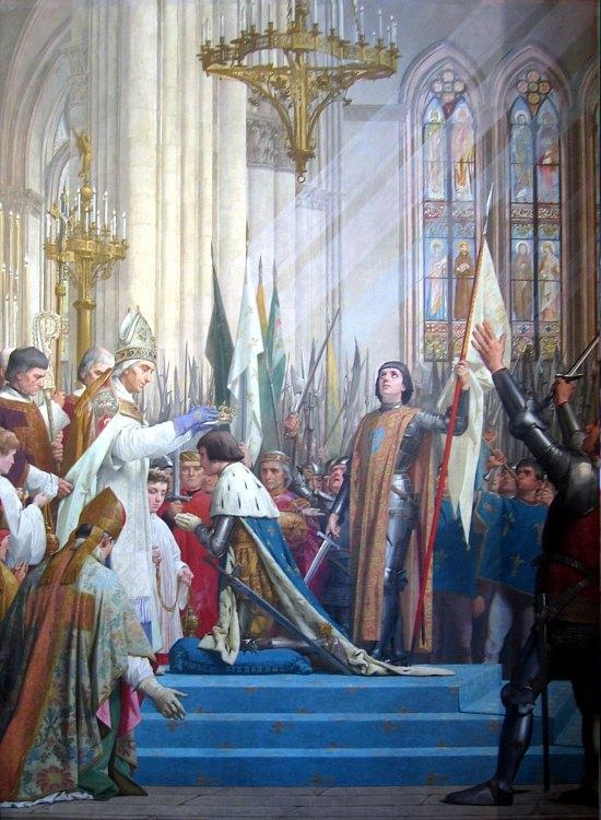Jeanne d'Arc au sacre de Charles VII