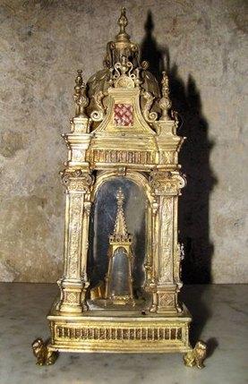 Reliquaire du Lait de la Vierge de la basilique d'Evron