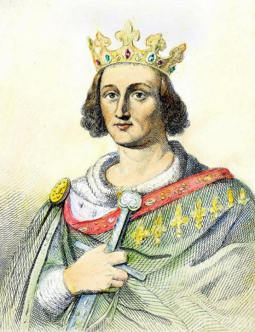 Le roi saint Louis