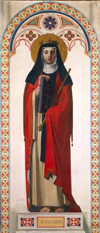Fête de l`Exaltation de la Sainte-Croix  - 14 septembre 2019 - ( Images et Musique) - tableau Poétique  Sainte-Radegonde-2