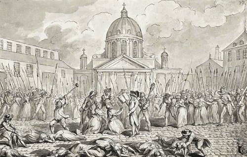 Massacre à l'hôpital-prison de la Salpêtrière (3 septembre 1792)
